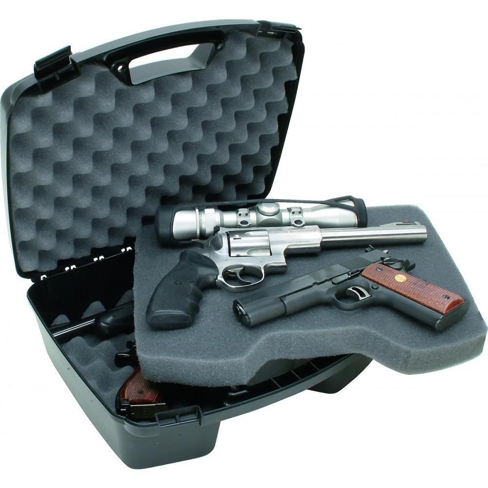 MTM Pistolkuffert i Plast til 4 Pistoler