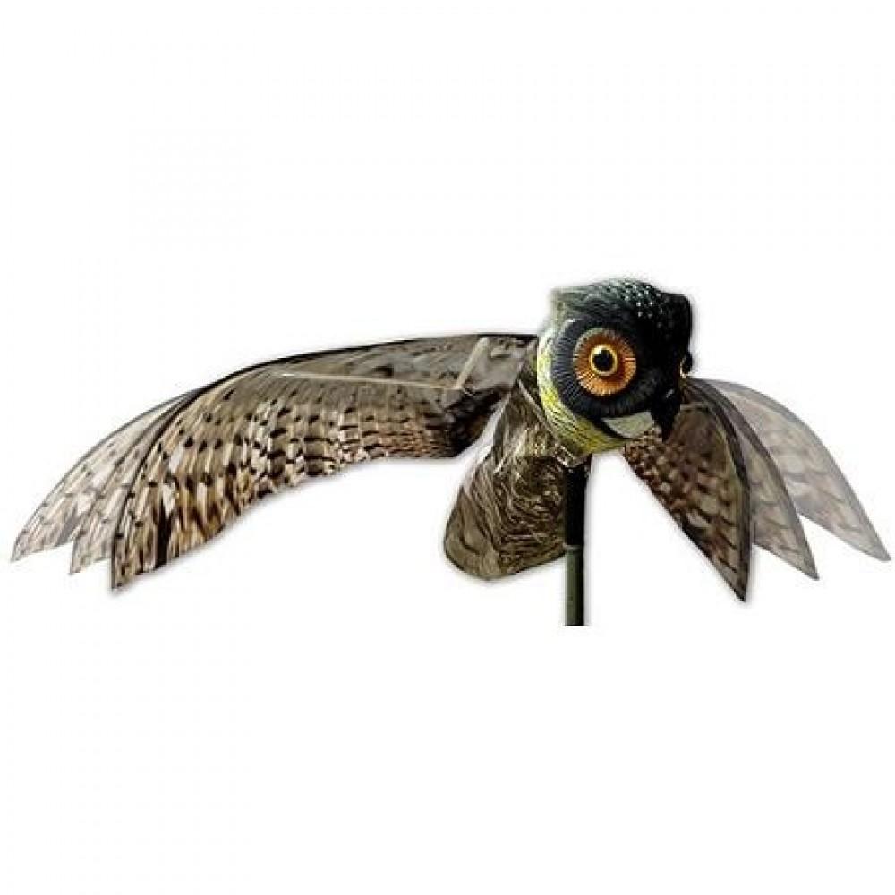 Krage ugle m/bevægelige vinger