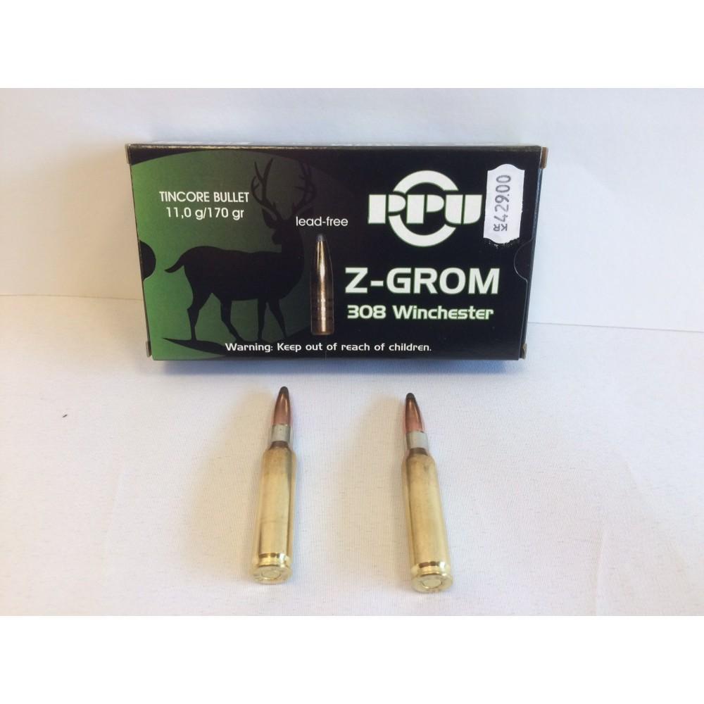 Partizan .308 W. Z-GROM BLYFRI 11.0 gr.