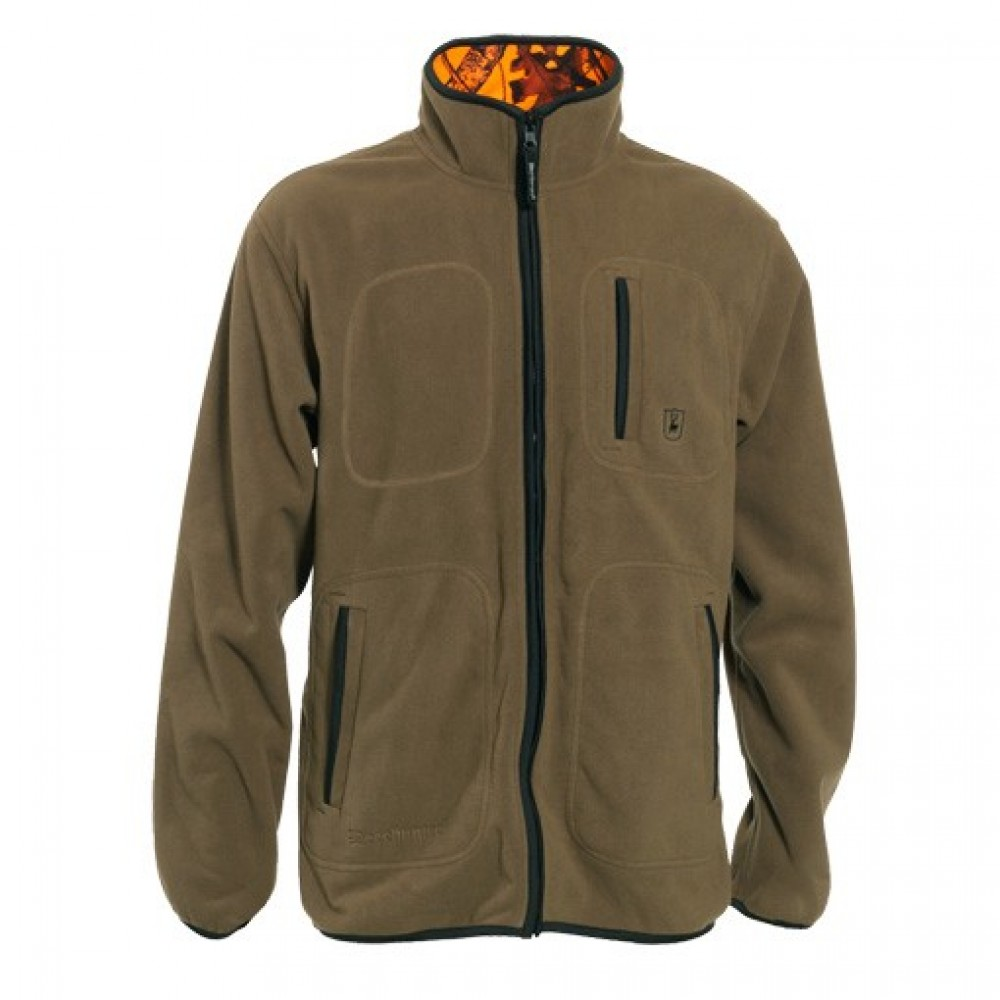 Deerhunter Fleece Jakke Vendbar