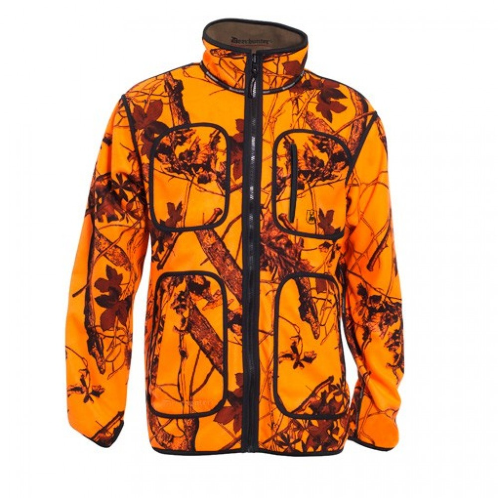 Deerhunter Fleece Jakke Vendbar-00