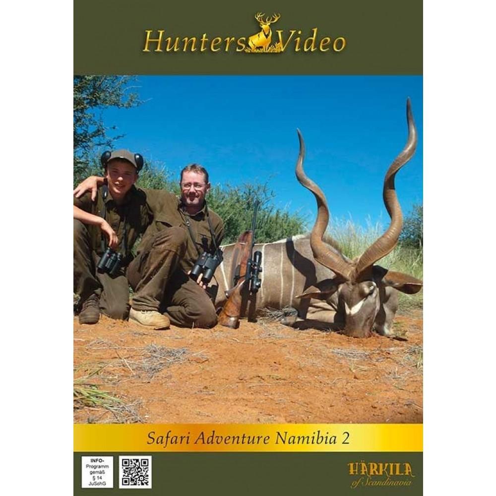Hunter Video Safari Eventyr Namibia 2 - DVD
