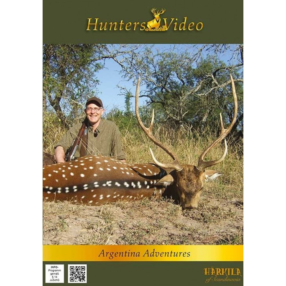 Hunter Video Argentina Eventyr (Argentina Adventures) - DVD