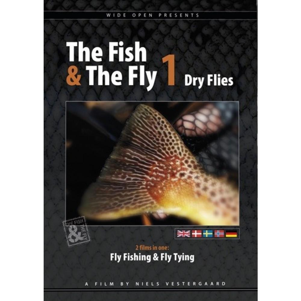 Wide Open - The Fish & The Fly 1 - Tørflue - DVD