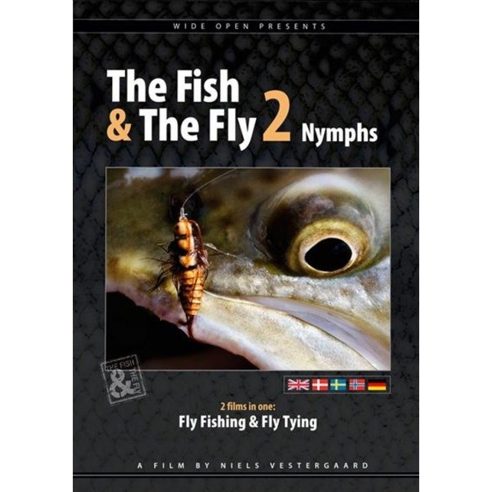 Wide Open - The Fish & The Fly 2 - Nymfe - DVD