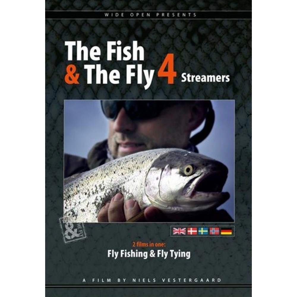 Wide Open - The Fish & The Fly 4 - Streamere - DVD