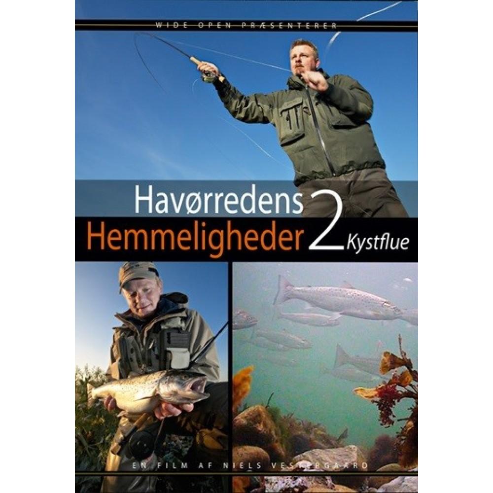 Wide Open - Havørredens Hemmeligheder 2 - Kystflue - DVD
