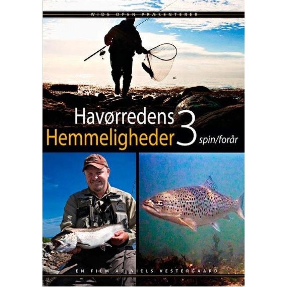 Wide Open - Havørredens Hemmeligheder 3 - Spin / Forår - DVD
