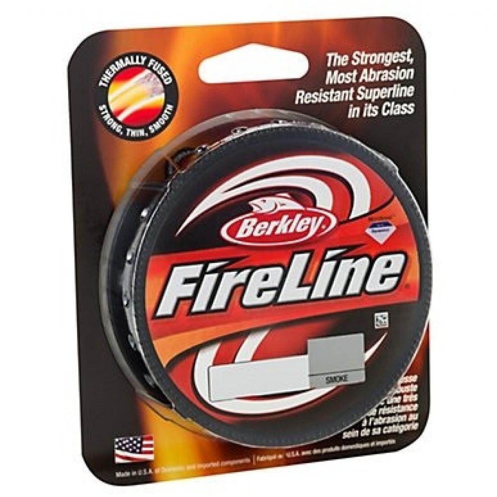 Berkley - Fireline - Smoke 0,15 mm 7,9 kg 110m fiskeline