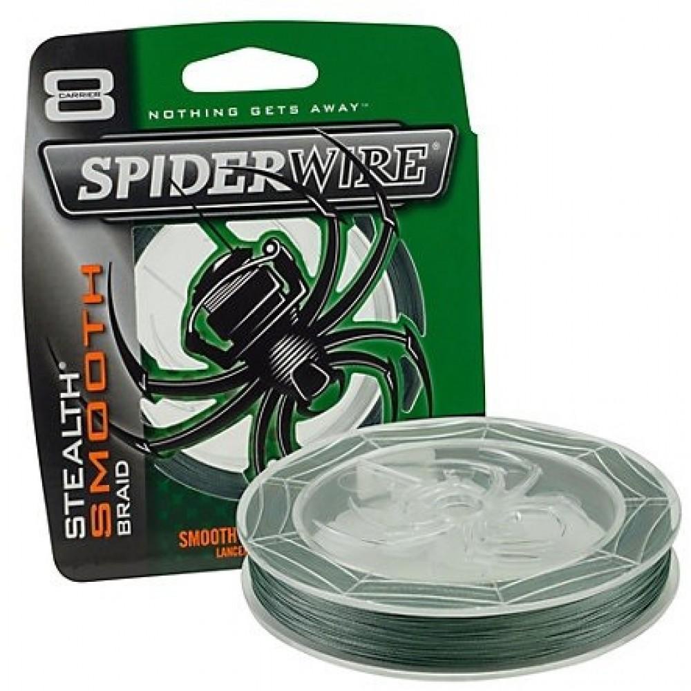 Spiderwire - STEALTH Smooth 8 Braid - 0,20 mm 20 kg 150M Moss Green Fiskeline