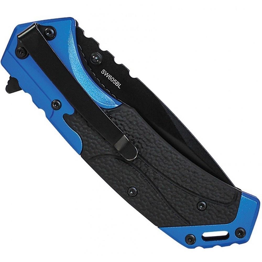 Smith & Wesson Knives - Jagtkniv - blå kniv