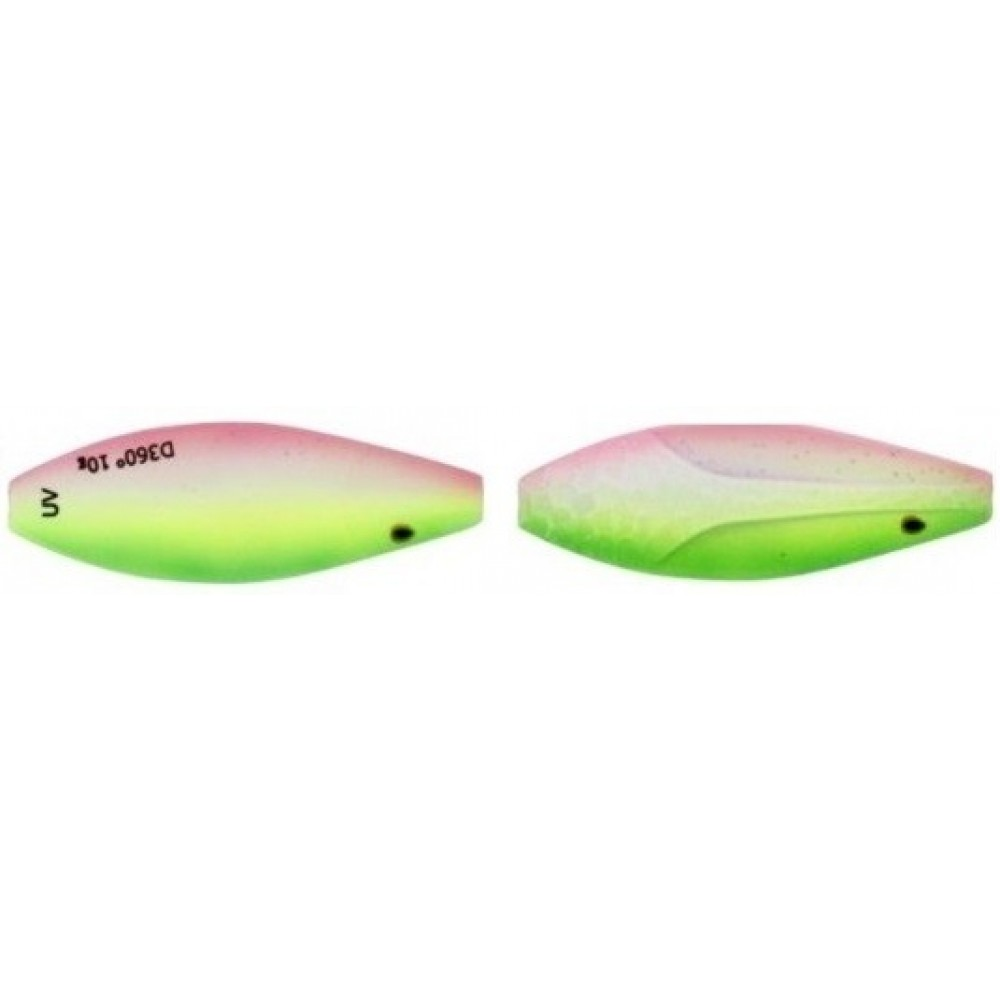 Westin D360 UV 4 cm / 6 g - Gennemløbs Blinket - Rainbow Treasure