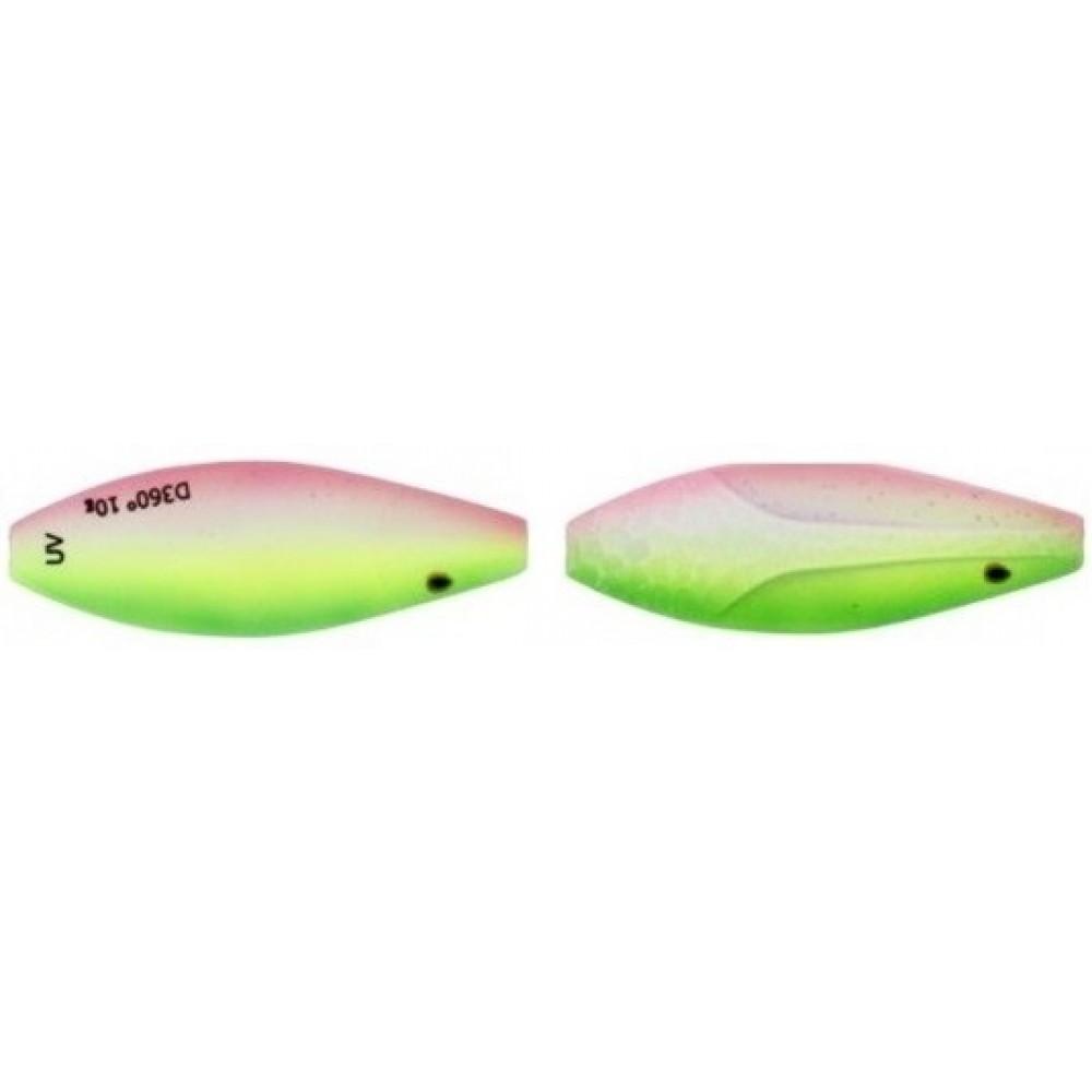 Westin D360 UV 4 cm / 6 g - Gennemløbs Blinket - Rainbow Treasure