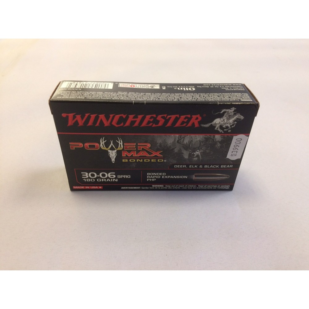 Winchester Power Max Bonded 30.06 11,7 gram (180 Grains)