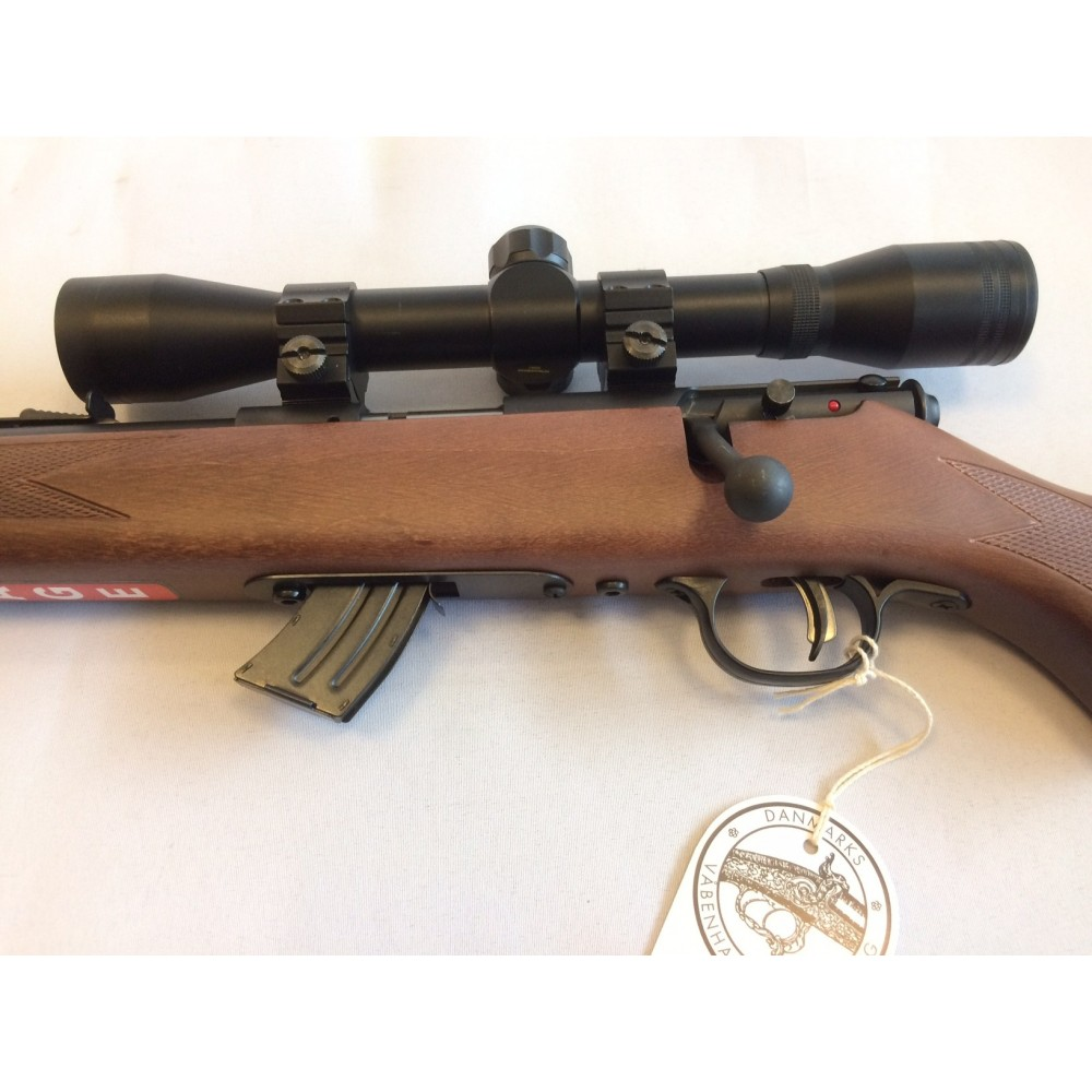 Ny Savage Mark ll .22 lr LINKS m/kikkert og lyddæmper-00