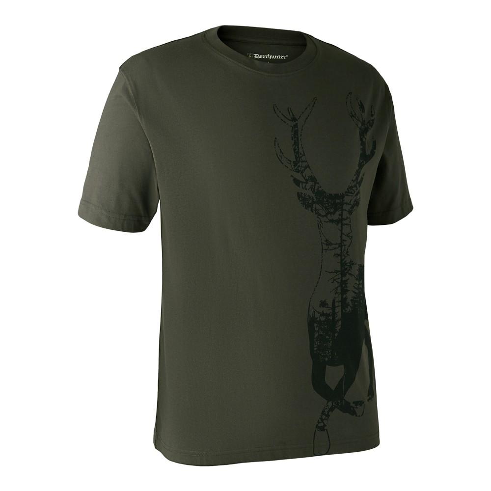 Deerhunter T-Shirt m/motiv af hjort