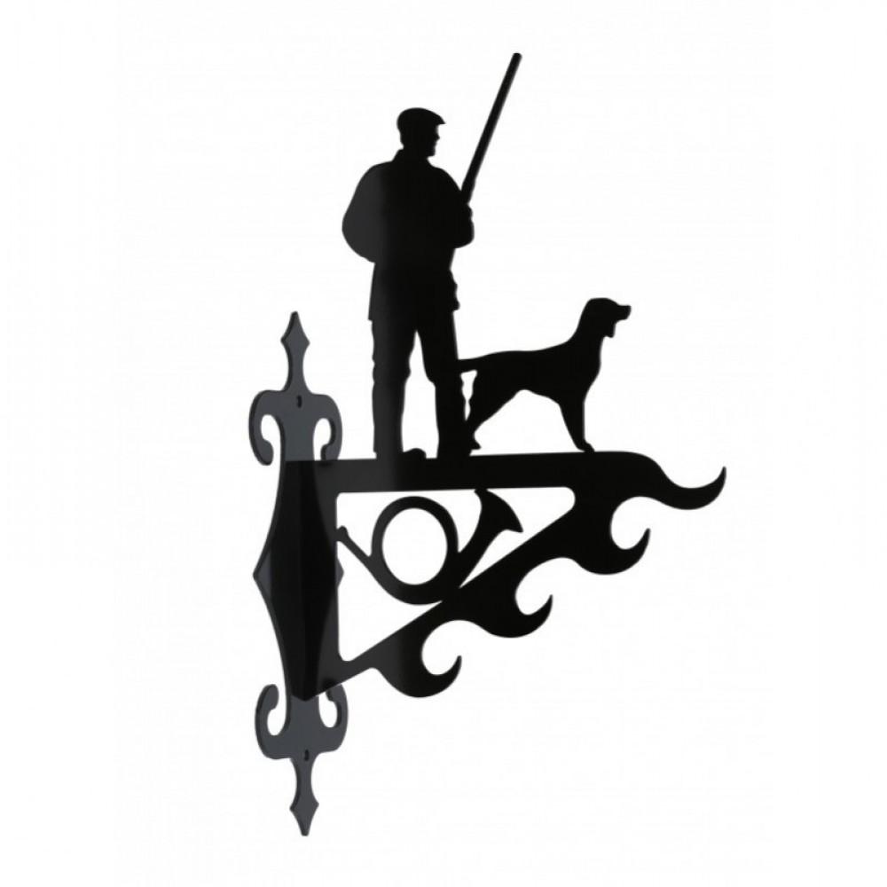 Vildtkrog, Jæger Med Hund, Stor
