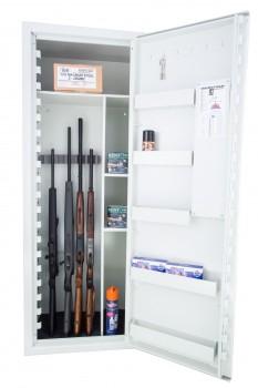 SP 88 Våbenskab til 9 Våben inkl. hylder m/elektronisk kodelås (FRAGTFRIT LEVERET)-20