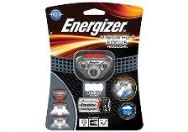 Energizer Pandelampe (headlight) 250 lumens + 3 AAA batterier-20