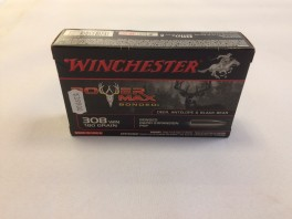 Winchester Power Max Bonded .308 w. 11,7 gram (180 Grains)-20