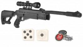 Hatsan AirTact 4,5 mm m/kikkert 3-9x32-20