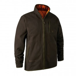 Deerhunter Gamekeeper Fleece Jakke Vendbar-20