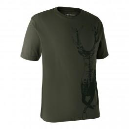 Deerhunter T-Shirt m/motiv af hjort-20