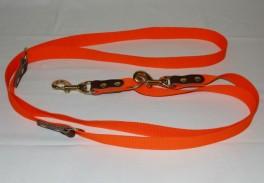BLF Dressurline Webbing 25 mm x 250 cm Orange-20