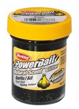 BerkleyPowerbaitNaturalScentBlackGlitterGarlic-20