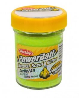 BerkleyPowerbaitNaturalScentChartreuseGlitterGarlic-20