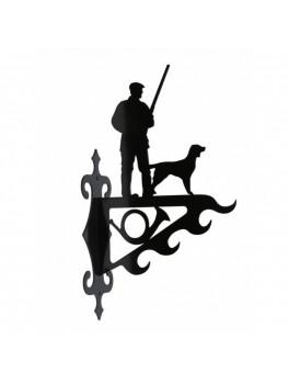 Vildtkrog, Jæger Med Hund, Stor-20